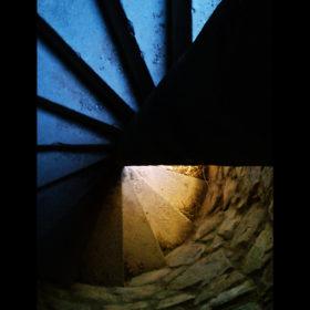 Castillo de Calatrava Escalera de Caracol