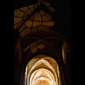 Castillo de Calatrava Interior Iglesia
